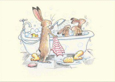 bathing.quenalbertini: Bath & shower for the bunnies