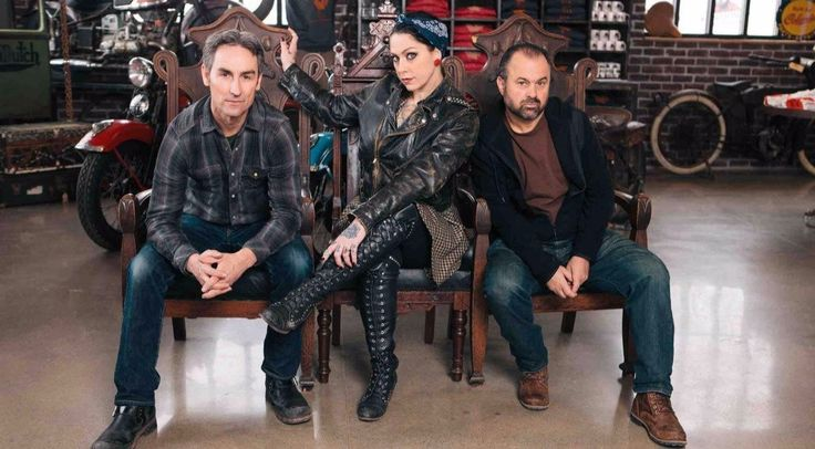 'American Pickers' co-stars Frank Fritz, Mike Wolfe and Danielle Colby