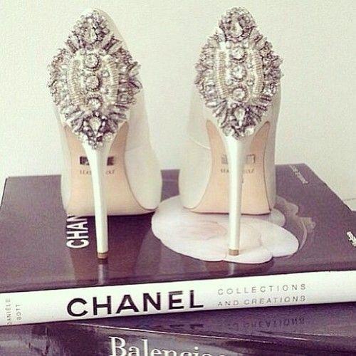 #Shoes #White #Wedding