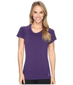 Smartwool Merino 150 Baselayer Short Sleeve (Mountain Purple) Women's T Shirt