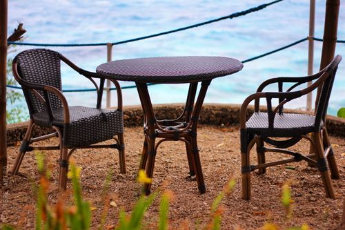 table by the seaI D Visit, Favorite Places, Places I D, Ocean Therapy, Islands Escape, The Sea