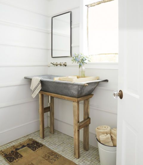 116 best bathroom salle de bain images on pinterest for Country cottage bathroom design ideas