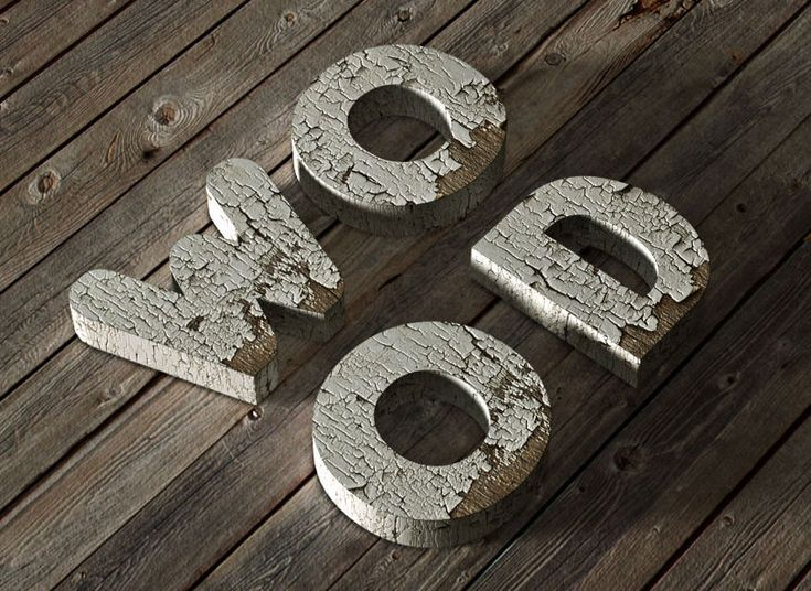 3D-Chipped-Painted-Wood-Text-Effect---850