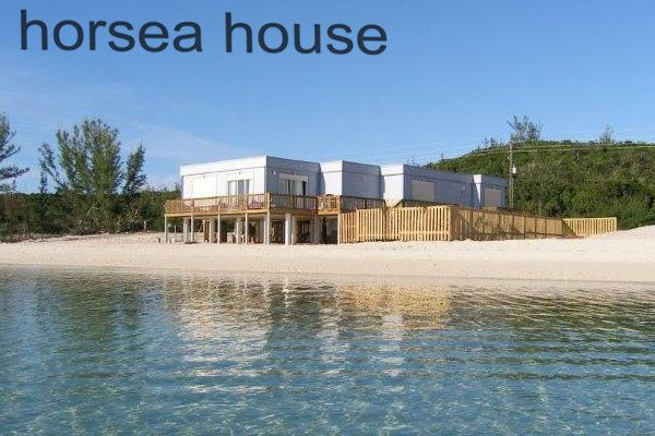 Sea view steel construction villa frame house
