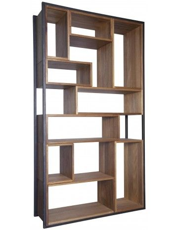Modern Bookcase + Shelves Bauhaus Bookcase - Bookcases - Accent Furniture - Living Room