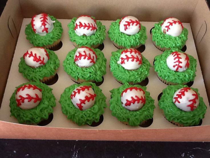 Best 25 Softball Cupcakes Ideas On Pinterest Baseball