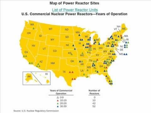 Best Hudnalls Enviromental ScienceNuclear Power Images On - List of nuclear power plants in us map