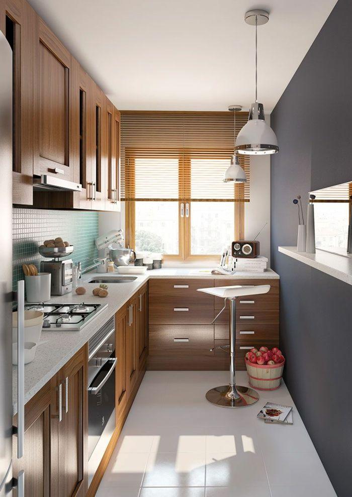 ▷ 1001 + idées pour l\'aménagement de la cuisine petit espace ...