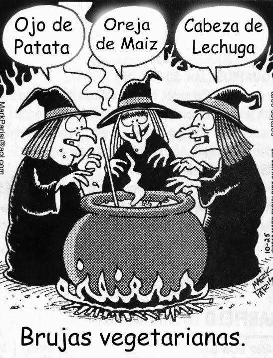 Image result for brujas vegetarianas