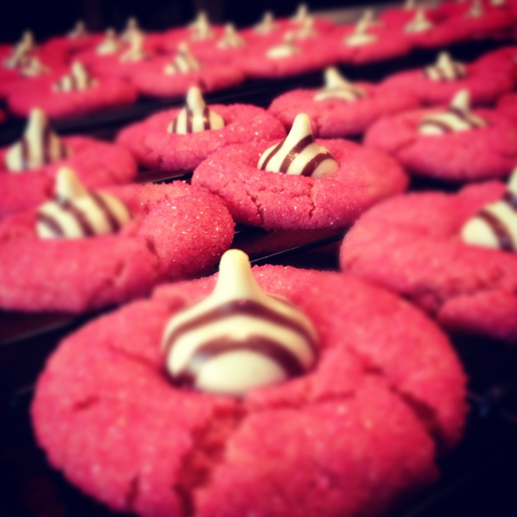 Perfect bachelorette party cookies! Used gel food coloring and added until reached desired shade of pink.