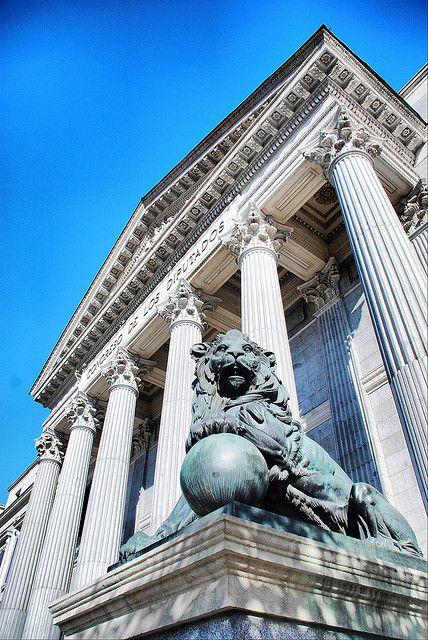 Madrid. Palacio del Congreso de los Diputados.