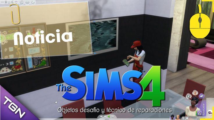 Los sims 4 - Objetos desafío y técnico de reparaciones