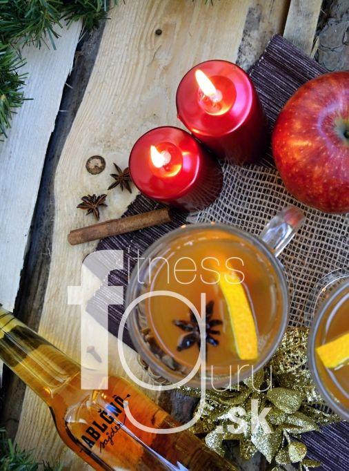 Horký apple cider