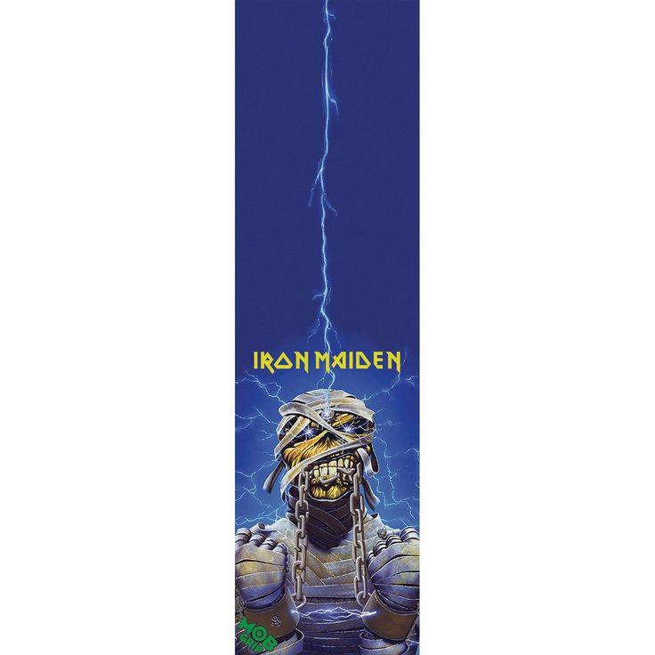 "Mob Iron Maiden World Slavery 9"" x 33"" Skateboard Grip Tape"