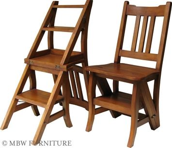 Library Step Stool Chair Woodworking Projects Amp Plans