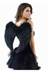 Resultado de imagen de angel negro disfraz