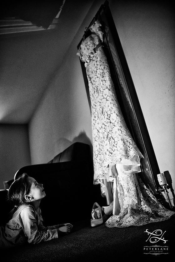 Greek wedding photographer | London Wedding Photographer | Wedding photography by Peter Lane - bridal dress