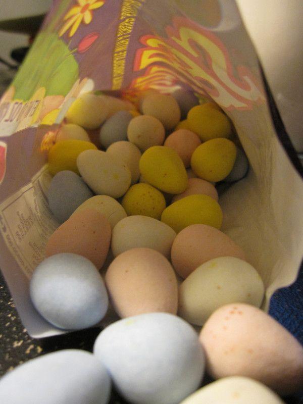 Cadbury Mini Eggs - wedding candy...