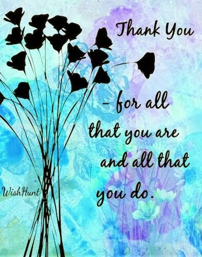 Image result for thank you for all you do images