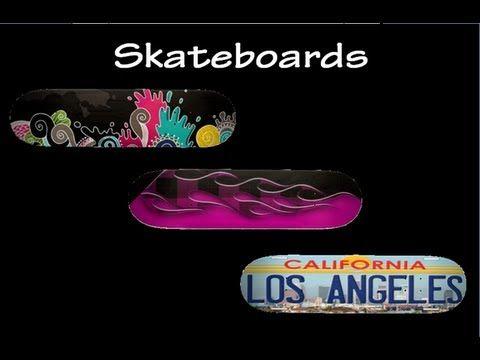 Skater Tricks & Skateboards Video