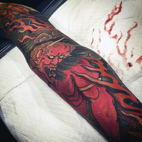Japanese Tattoo Wallpaper: 1000+ Ideas About Japanese Demon Tattoo On Pinterest