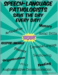 Speech-Language Pathologists (SLP) address communication and swallowing  disorders in patients. If a child has trouble comprehending or expressing  spoken or ...
