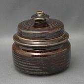 Arabia Mahonki series, sugar bowl / sokerikko, Ulla Procopé, 1960's 8.5 cm h x 8.5 cm, 270 g.  30€