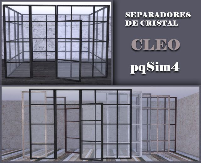 Sims 4 cc 39 s the best cleo windows by pqsim4 sims 4 cc for Best windows for new home construction