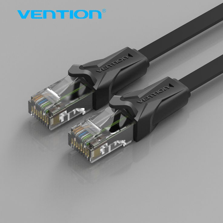 Vention Flat Ethernet Cable CAT 6 RJ45 Network Ethernet Patch Cord Lan Cable Laptop Cable for Computer Router