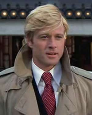 "Men:  Robert Redford, ""The Way We Were."""