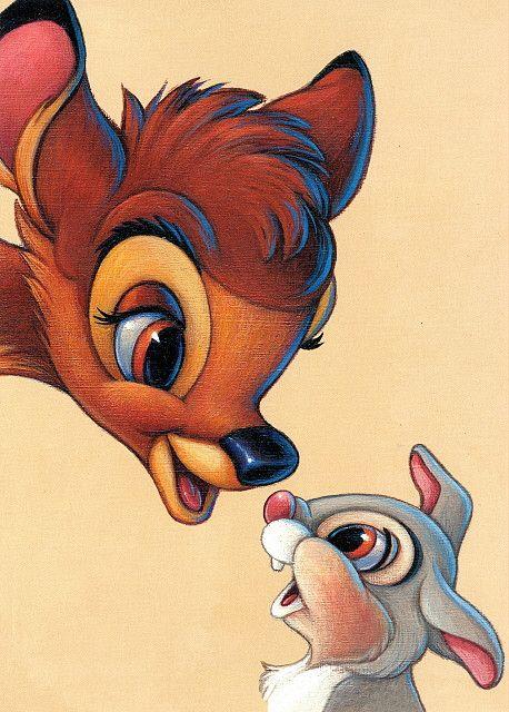 <3 Bambi & Thumper <3