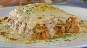 Con esta receta podemos preparar una lasagna con pollo muy fácilmente, su elaboración se hace en pocos minutos y nos