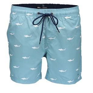 Gsus Shark swimshort, Blue Light, medium