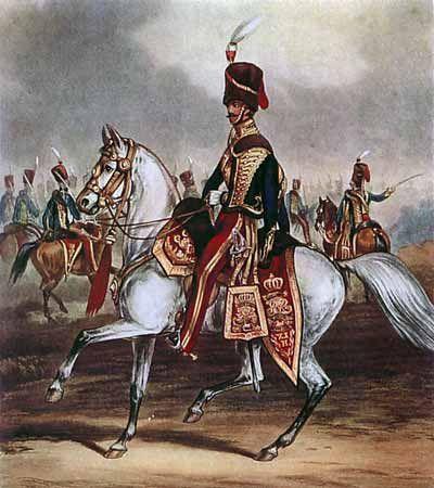 officer mess dress light dragoons 1806 english - Google Search