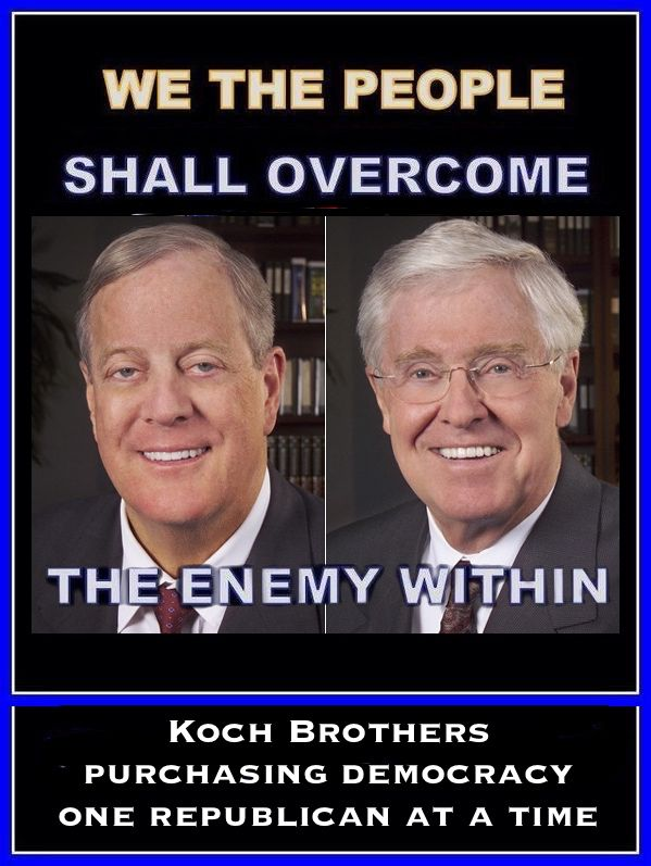 "HELP SAVE OUR REGULATORY SYSTEM FROM THESE REVOLTINGLY CORRUPT ASSAULTS!   GOP Congress, Trump Already Pushing Koch Industries' Bill to Hobble Regulatory Agencies - ""All of us suffer when protective rules are weakened, delayed, or blocked."" Please Sign and Share Widely!  http://action.citizen.org/p/dia/action3/common/public/?action_KEY=13379"