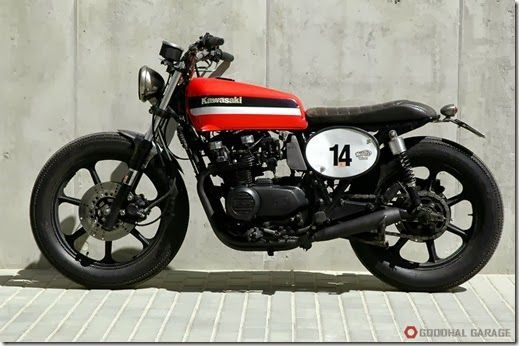 Kawasaki GPZ550 - Motors Work - Goodhal Garage