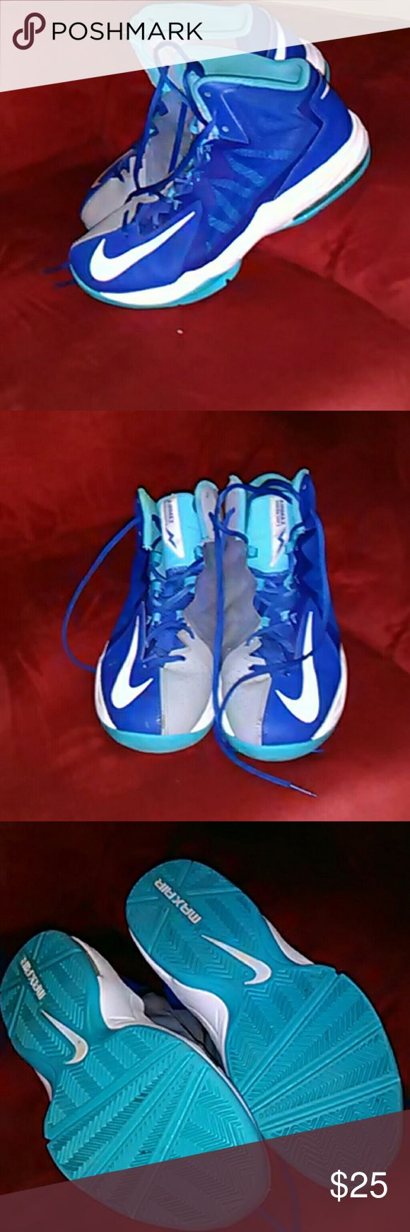 Nike Stutter Step Nike hi tops in good condition Nike  Shoes Athletic Shoes