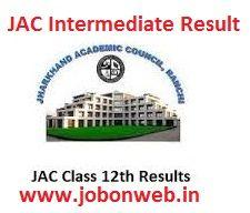 JAC 12th Result 2016, JAC Intermediate Result, jharresults.nic.in