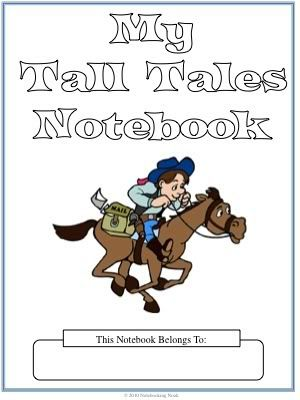 Notebooking Nook: Freebie: Tall Tales Notebooking Pages