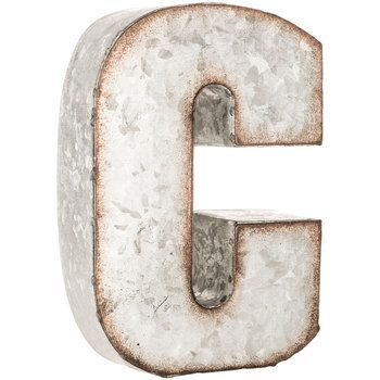 galvanized metal letters anthropologie 21 best images about metal letters on 19022