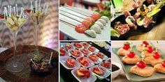 """Para fazer uma recepção de casamento, aniversário, formatura ou qualquer outro tipo de festa  sem um jantar , a ideia é fazer uma festa com os finger foods as """"comidinhas""""."""