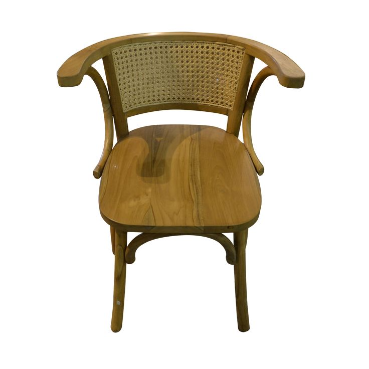 Dining chair - Classy rattan. Both stylish and comfortable, our Dining Chair Classy Rattan has a light weight and warm color for a natural look living space.