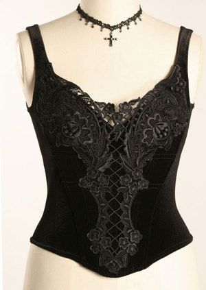369SO - Butterfly Bodice - Gothic, romantic, steampunk clothing from The Dark Angel