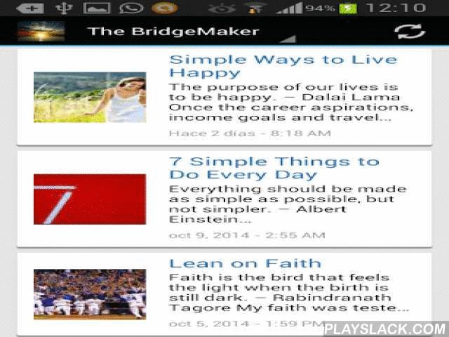 "Inspiration And Motivation  Android App - playslack.com , ""Start by doing what's necessary; then do what's possible; and suddenly you are doing the impossible.""Francis of AssisiNothing is impossible, the word itself says 'I'm possible'"