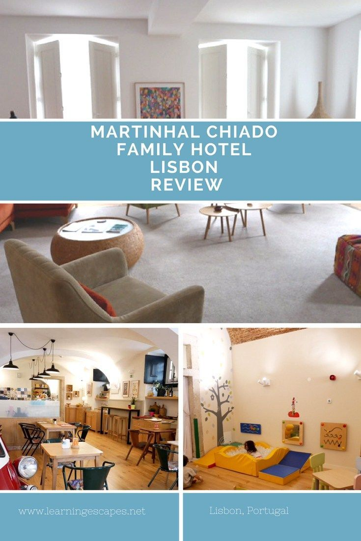 Martinhal Chiado is a family hotel in Lisbon city centre catering for families with children. An excellent address for families visiting Llisbon: click on the image to read our full review