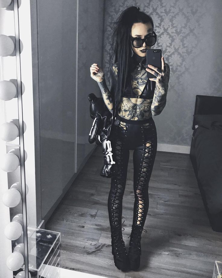 "Monami Frost (@monamifrost) on Instagram: ""Outfit from @dollskill    Dead Teddy Backpack   Wreck Lock-it Bra  Buggin' boots  Nancy Corset leggings"" Get yer leggings here bb!! http://www.dollskill.com/current-mood-nancy-corset-leggings.html"
