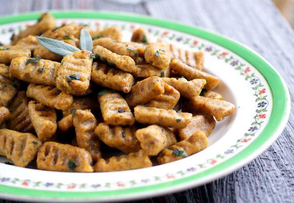 gluten-free, grain-free, vegan, candida diet pumpkin gnocchi recipe on ...