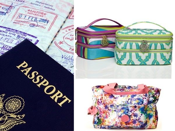 For the world traveler: Cosmetic bags by Sonia Kashuk