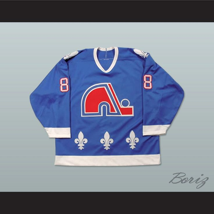 """Eric Lindros Quebec Nordiques Draft Hockey Jersey NEW Stitch Sewn Any Size. SHIPPING TIME IS ABOUT 3-5 weeksI HAVE ALL SIZES and can change Name and #(Width of your Chest)+(Width of your Back)+ 4 to 6 inches to account for space for a loose fit.Example: 18"""" wide chest plus 18"""" wide back plus 4"""" of space, would be a size 40"""".Please consider ordering a larger size, if you plan to wear protective sports equipment under the jersey.size chart chest:XS 30""""-32"""" Chest Measurement (76-81 cm)S 34""""-36""""…"""