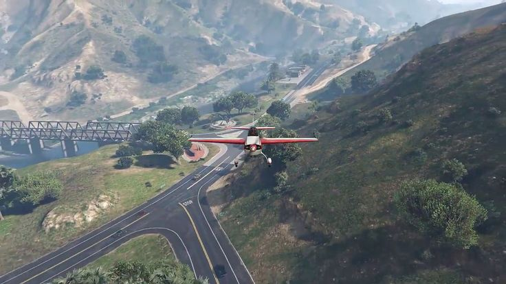 GTA V mods #4   Deadpool  driving practice walking around the mountain air